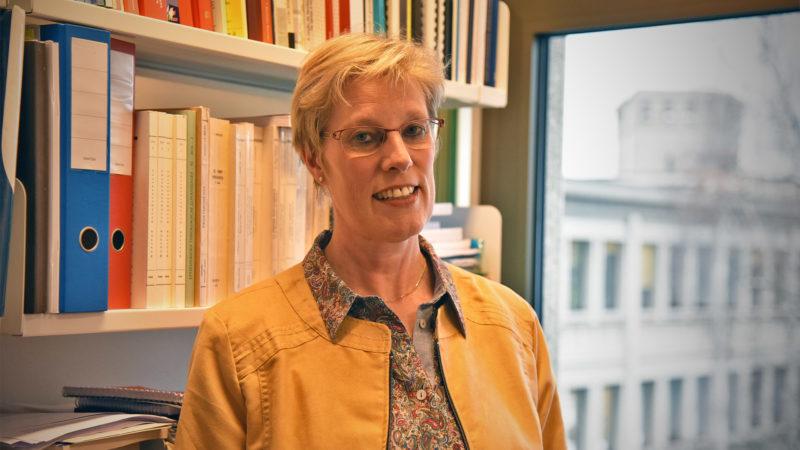 Astrid Kaptijn est professeure de droit canonique à la faculté de théologie de Fribourg | © Grégory Roth