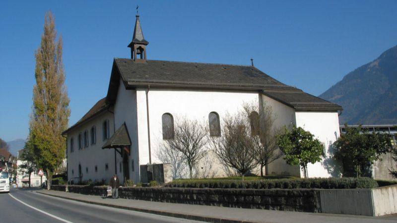 La chapelle de l'Hospice Saint-Jacques a été transférée au diocèse de Chersonèse. | © Abbaye de Saint-Maurice