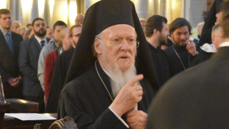 Le patriarche Bartholomée de Constantinople | © Jacques Berset