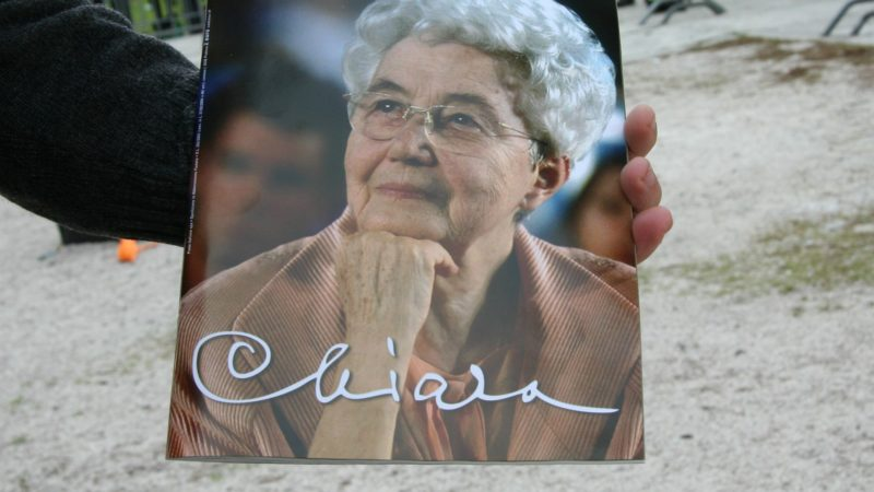 """Chiara Lubich (1920-2008) est considérée comme l'un des plus grands témoins de la foi du 20e siècle (Photo:Finizio/Flickr/<a href=""""https://creativecommons.org/licenses/by-nd/2.0/legalcode"""" target=""""_blank"""">CC BY-ND 2.0</a>)"""