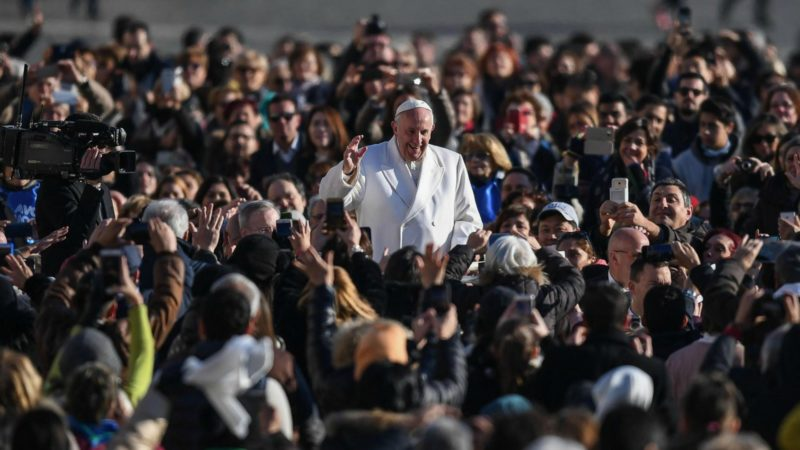 Le pape François bénéficie toujours d'une grande popularité | © Epa Ansa Alessandro di Meo/Keystone