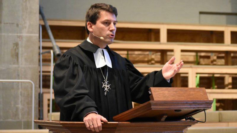 Le pasteur Gottfried Locher, actuel président de la Fédération des Eglises protestantes de Suisse (FEPS) | © Jacques Berset