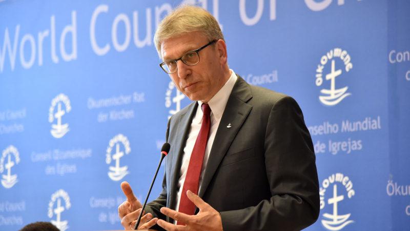 Le pasteur Olav Fykse Tveit, secrétaire général du COE | © B. Hallet