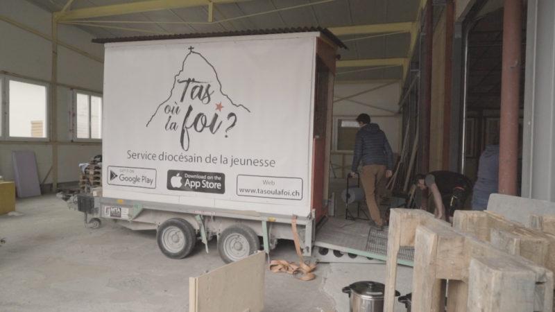Le Food Truck des jeunes Valaisan du réseau DJP | @ Pierre Pistoletti