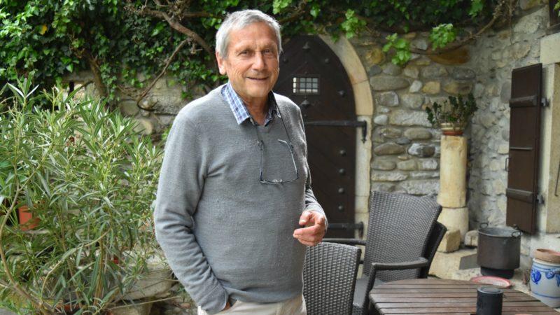 Professeur Yves Besson, à son domicile de Champtauroz, dans la   Broye vaudoise | © Jacques Berset
