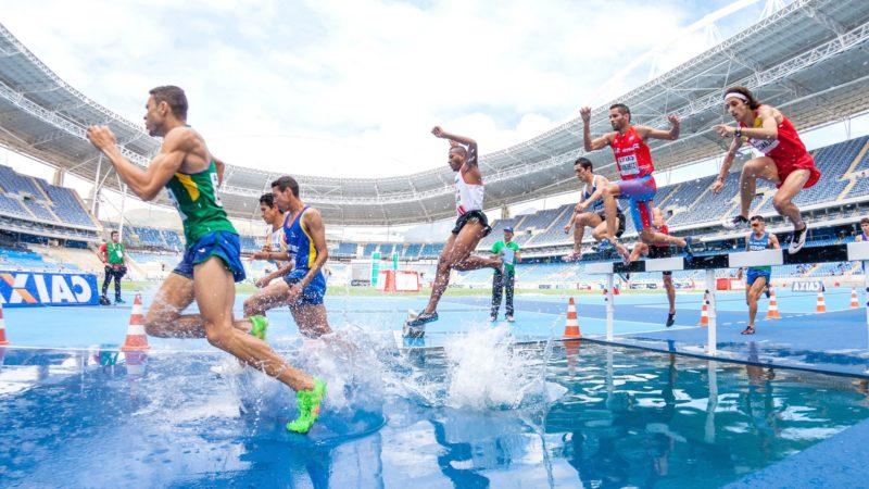 Une compétition d'athlétisme | Domaine public