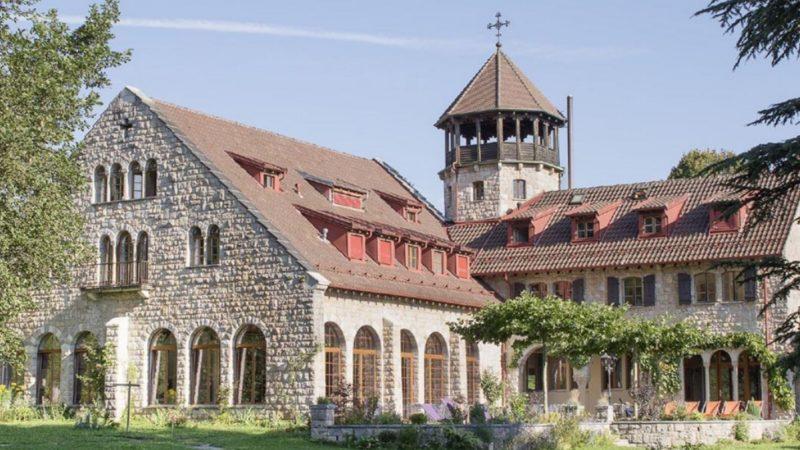 La maison d'accueil et centre de séminaires de Crêt-Bérard au-dessus de Puidoux, dans le canton de Vaud | DR