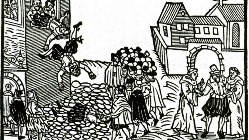 En mai 1618, la défenestration de Prague provoqua la Guerre de Trente ans