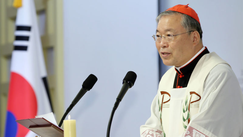 "Mgr Andrew Yeom Soo jung est archevêque de Séoul et admin. apostolique de Pyongyang | WikiCommons - Jeon Han - <a href=""https://creativecommons.org/licenses/by/2.0/legalcode"" target=""_blank"">CC BY 2.0</a>"