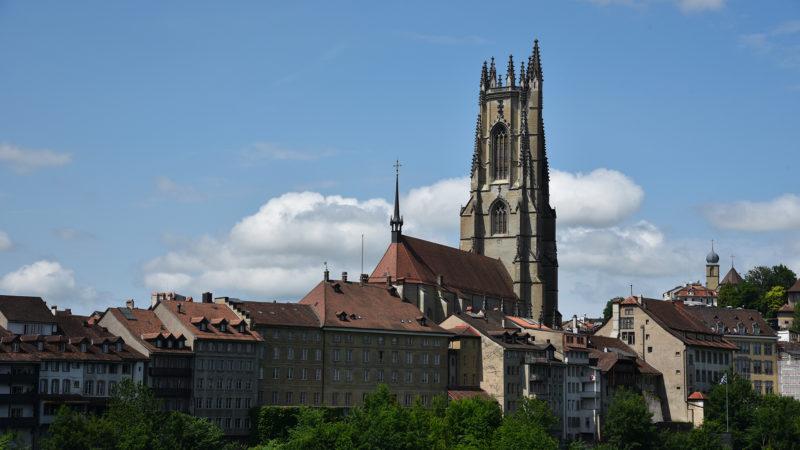 La cathédrale de Fribourg où se trouve le siège de l'évêque de Lausanne, Genève et Fribourg | © Pierre Pistoletti