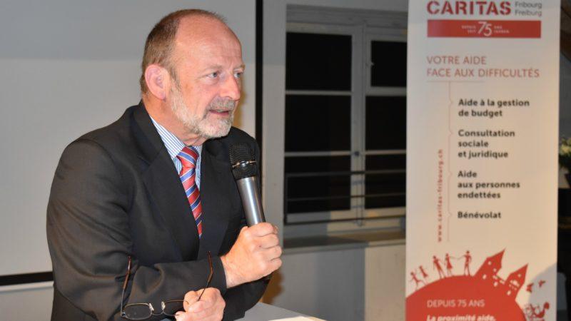 Le Fribourgeois Dominique de Buman, président du Conseil national | © Jacques Berset