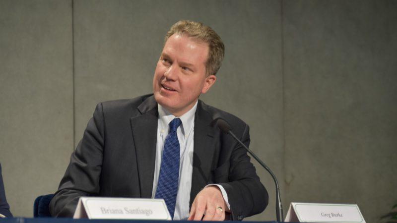 Greg Burke, directeur du Bureau de presse du Saint-Siège | ©  Jacques Berset