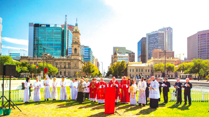 Messe en pleine air © Archdiocese of Adelaide