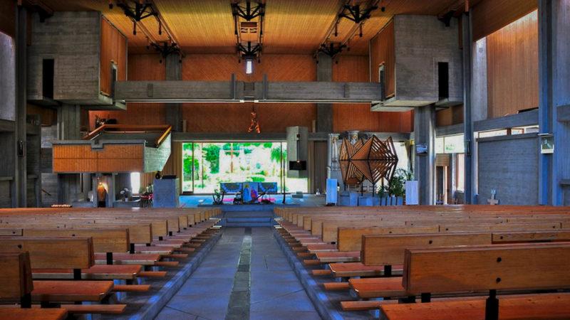 L'église Saint-Michel de Martigny Bourg, un espace de prière audacieux |©Flickr/ Jean-Louis Pitteloud