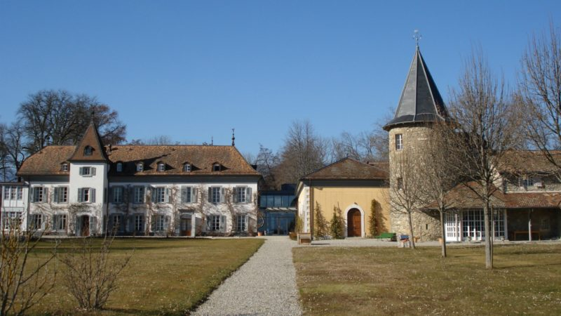 "L'Institut oecuménique de Bossey a accueilli le pape François (Photo:Jakobsweg.ch/Flickr(<a href=""https://creativecommons.org/licenses/by-nc/2.0/legalcode"" target=""_blank"">CC BY-NC 2.0</a>)"