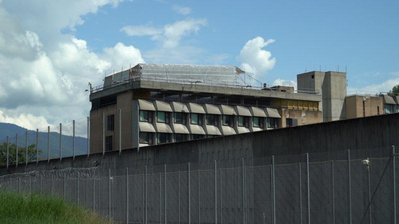 Le prison de Champ-Dollon où va être installée la mosaïque bénie par le pape |© Pierre Pistoletti