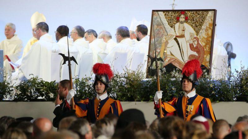 La mosaïque du Christ sera déposé à la prison de Champ-Dollon | ©  Bernard Hallet