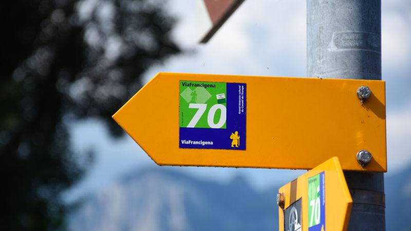 La Via francigena traverse la Suisse romande de Sainte-Croix au col du Grand Saint Bernard | © Grégory Roth