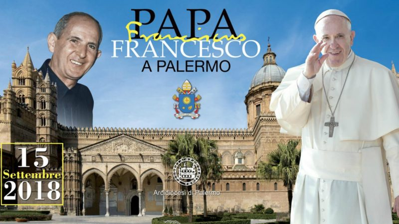 Le pape François, à Palerme le 15 septembre 2018, fera mémoire de Don Puglisi, assassiné par la mafia