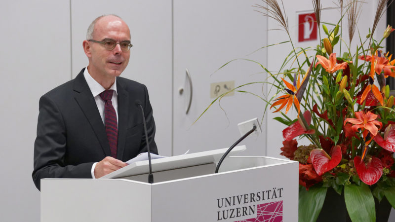 Professeur Martin Mark, Faculté de théologie de l'Université de Lucerne  © Thomi Studhalter / Paulus Akademie
