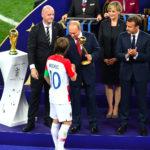 "Luka Modrić, ""consacré"" ballon d'or par Vladimir Poutine  © Russian Presidential Press and Information Office"