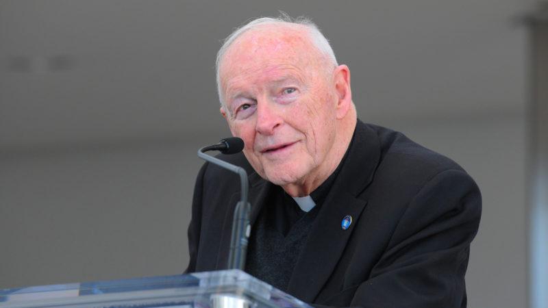 Le cardinal Theodore Edgar McCarrick, archevêque émérite de Washington (2000-2006)   ©flickr/usipeace/CC BY-NC 2.0