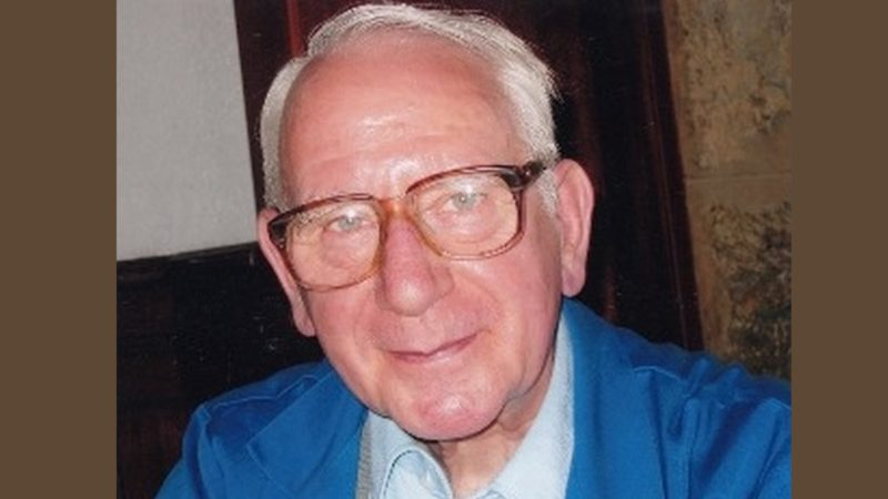 L'abbé Willy Vogelsanger (1925-2018) a été durant 45 ans prêtre au Petit-Lancy | DR