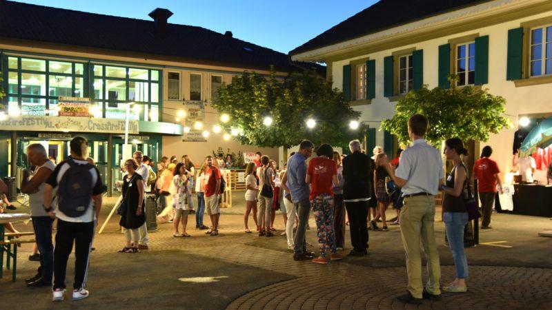 Le festival s'est déroulé dans le périmètre de la salle paroissiale de Belfaux | © Raphaël Zbinden