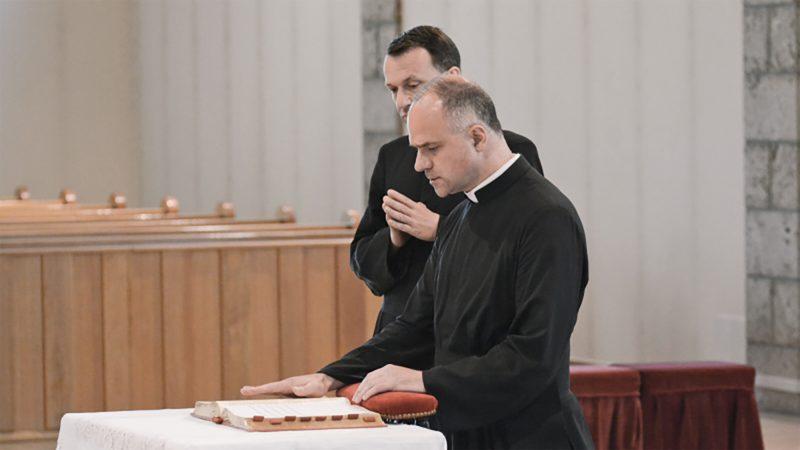 L'abbé Davide Pagliarani, supérieur général de la Fraternité Saint-Pie X depuis 2018 | © FSSPX