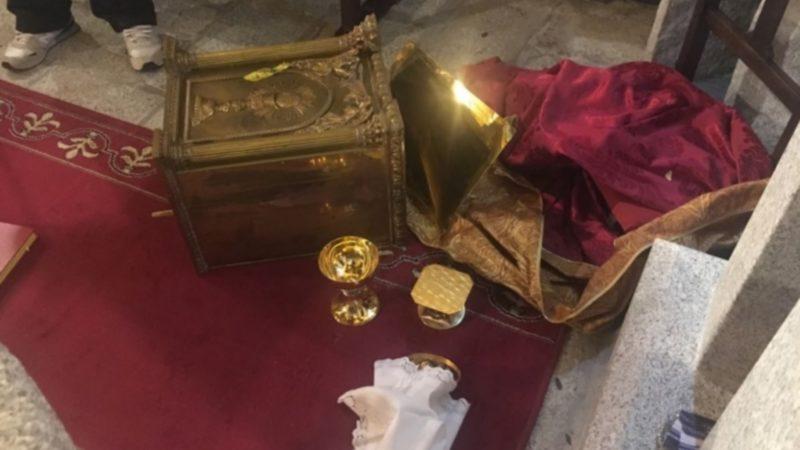 Le tabernacle de l'église san Bartolome a été jeté à terre | archidiocèse de Madrid