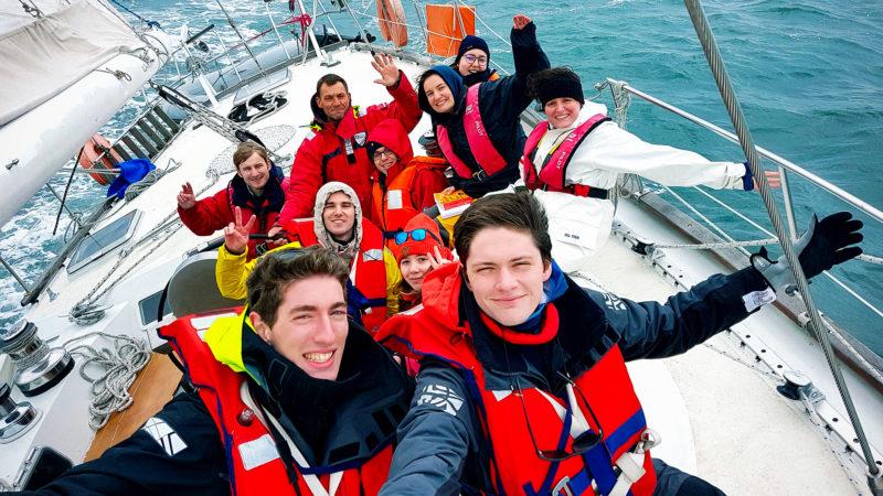 Les 17 jeunes seront accompagnés par trois skippers aguerris |DR