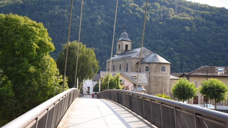 Le village de Massongex marque l'entrée en Valais | © Grégory Roth