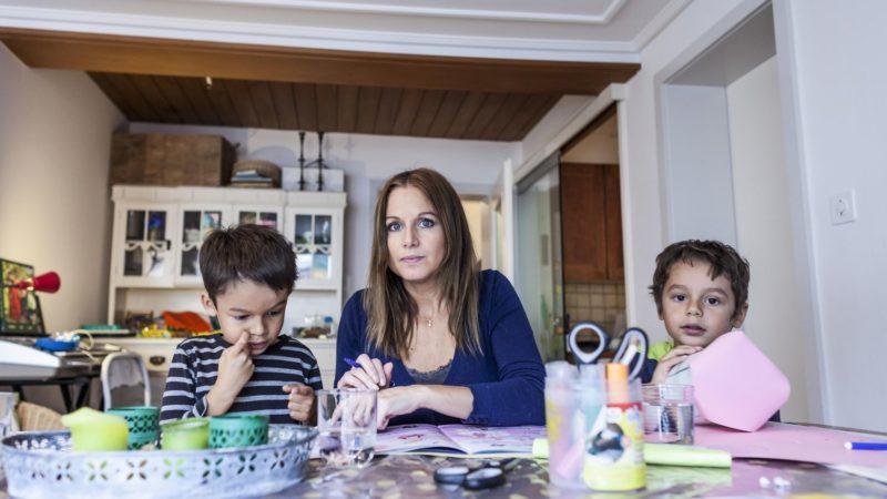 Pauvreté des enfants en Suisse Environ un quart des familles monoparentales sont tributaires de l'aide sociale   © Caritas Thomas Plain