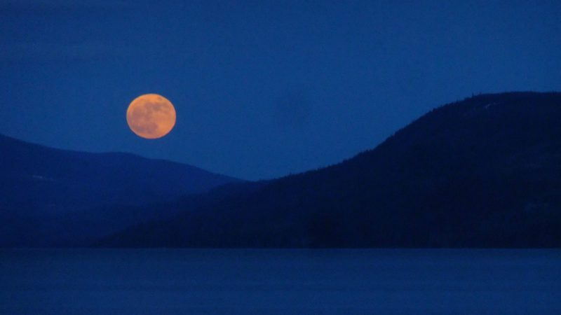 "La lune rouge du 27 juillet 2018 a fasciné les foules (Photo:Gabriel Legaré/Flickr/<a href=""https://creativecommons.org/licenses/by-sa/2.0/legalcode"" target=""_blank"">CC BY-SA 2.0</a>)"