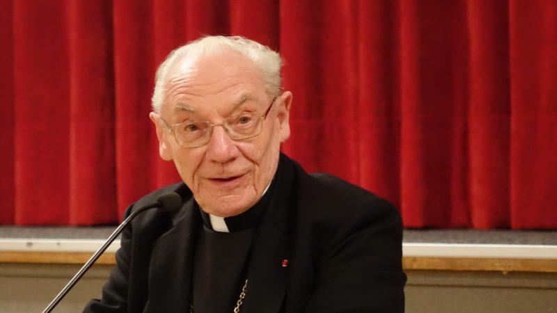 Le cardinal français Paul Poupard a effectué l'une des plus longues carrières au Vatican   © Maurice Page
