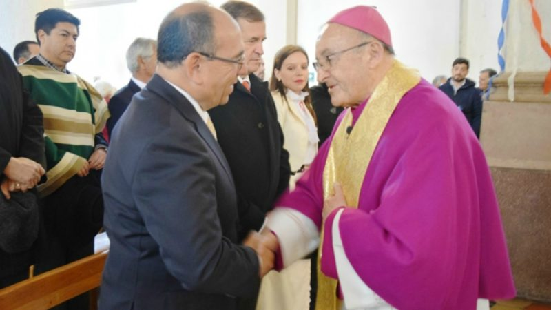 Mgr Cristián Enrique Contreras Molina, évêque de San Felipe | Conférence épiscopale du Chili