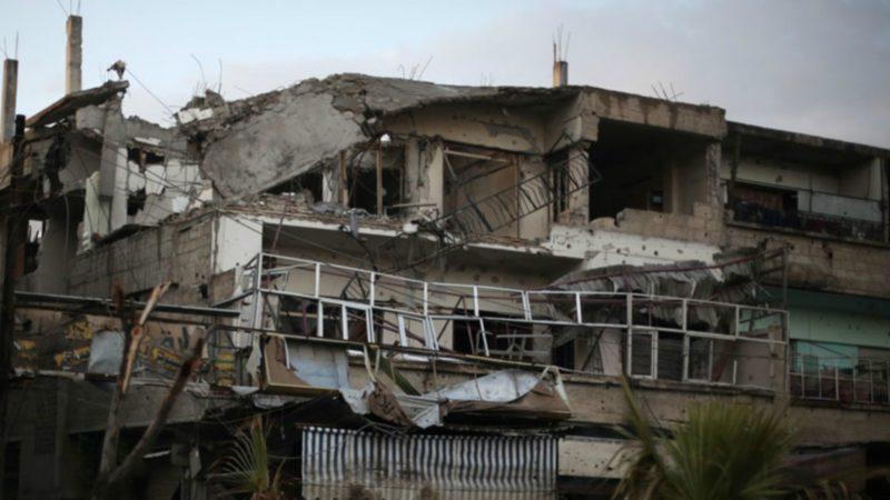 Syrie Dans les rues dévastées de Douma, dans la Ghouta orientale | ©  UNICEF Amer Al Shami