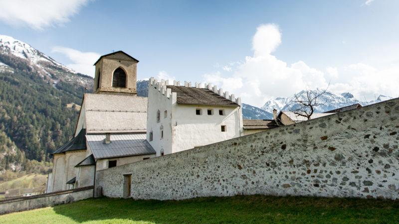 Le couvent Saint-Jean-Baptiste de Müstair, en Basse-Engadine | © Klaus Petrus