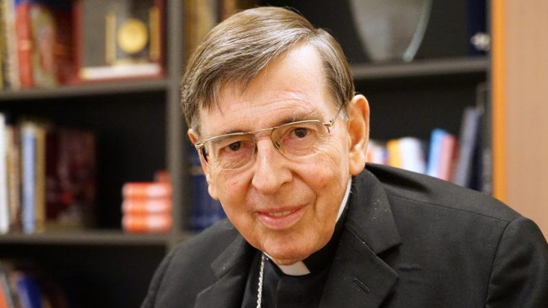 Le cardinal Kurt Koch a participer au synode sur les jeunes | © Georges Scherrer - kath.ch