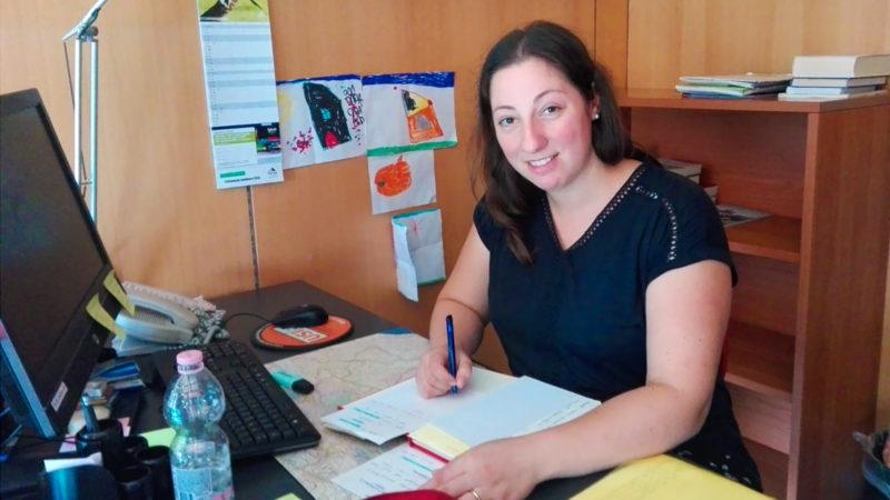 La Dr Myriam di Marco, une des organisatrices de la semaine à la Faculté de Lugano | © catt.ch