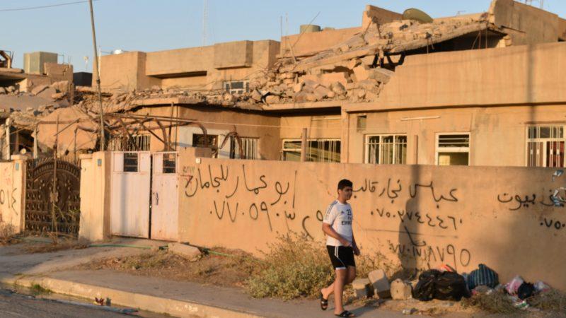 Les combats ont laissé un tas de ruines dans les villages de la Plaine de Ninive | © Jacques Berset