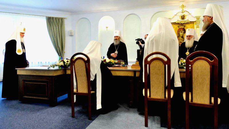 Réunion du Saint-Synode de l'Église orthodoxe russe  | © Patriarcat de Moscou