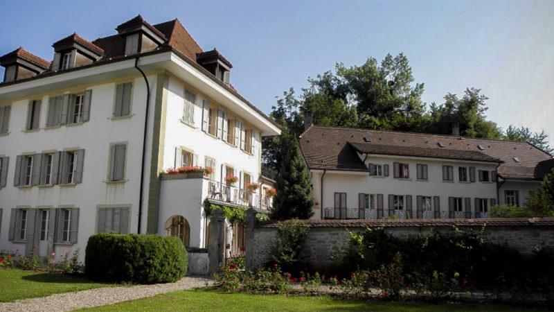 L'institut de formation Philanthropos à Bourguillon sur les hauteurs de Fribourg | ©eucharistein.org