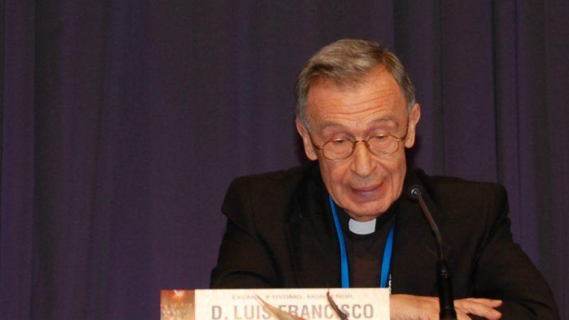 Le cardinal Luis Francisco Ladaria Ferrer est préfet de la Congrégation pour la doctrine de la foi depuis juillet 2017 | © Conferencia Episcopal Espanola