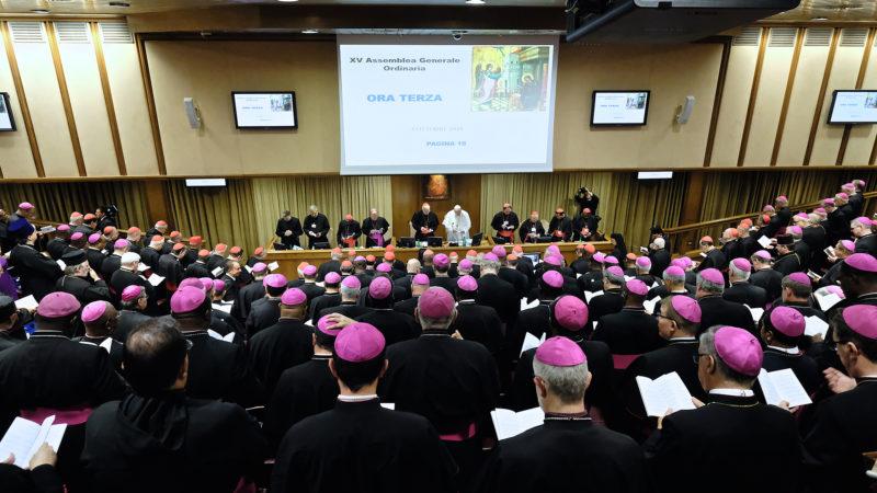 Synode des évêques Avec un vocabulaire bien particulier, la fonction de chacun et de chaque organe est strictement définie | © Oliver Sittel