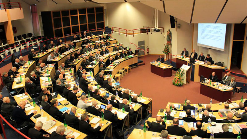 Les évêques français en assemblée plénière à Lourdes (archive) |© Diocèse Saint-Brieuc et Tréguier, 2012