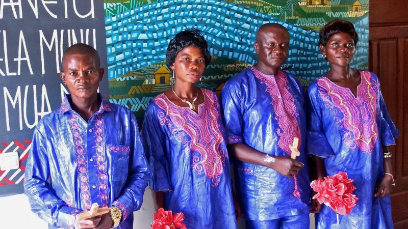 Au Congo, les mariages à l'église sont plutôt rares | © Guy Luisier