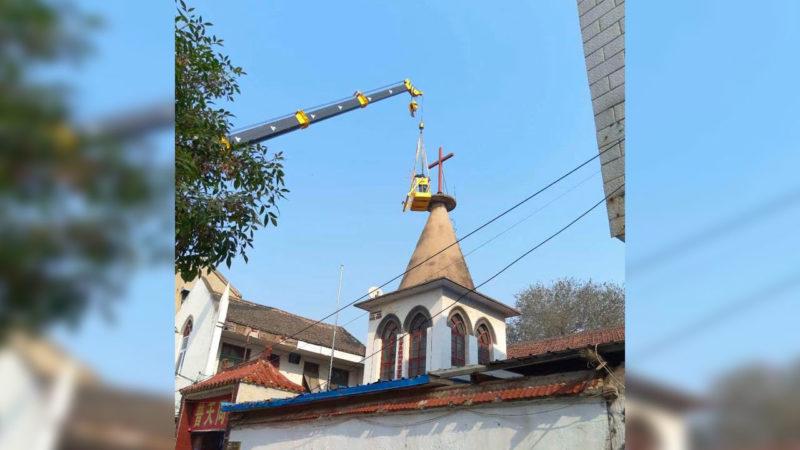 L'église catholique de Liaocheng a été construite en 1930 | capture d'écran