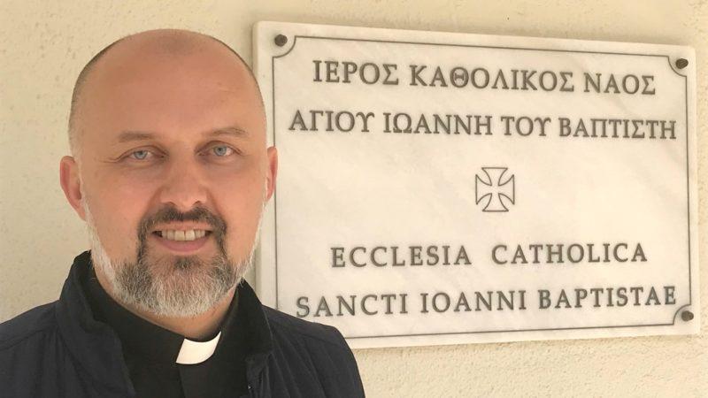 Daniel Stankiewicz est vicaire général de l'Eglise catholique en Crète | © Carole Pirker