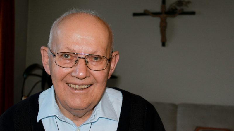 Père Joseph Kuster, de la Société des Missionnaires de Bethléem   © Bernard Litzler